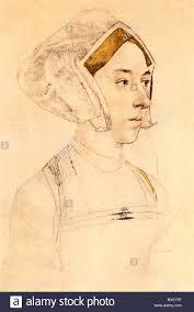 sketch by hans holbein the younger portrait of anne boleyn 1533 4
