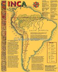 mayan empire map aztec inca map maps for the classroom