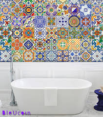 spanish mediterranean tiles wall floor kitchen bathroom