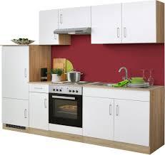 K Henzeile Angebot Küchenzeile Held Möbel Melbourne Breite 260 Cm Mit E Geräten