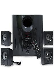 home theater speakers india intex it 2655 digi plus 4 1 multimedia speakers home theaters