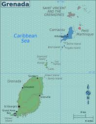 grenada location on world map geography of grenada