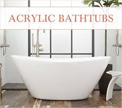 acrylic bathtubs vs cast iron bathtubs