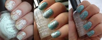 easy snowflake nail art fabulous nail art designs