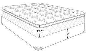 therapedic escapade queen mattress set queen mattress