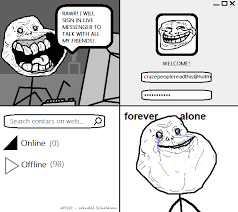 Forever Alone Know Your Meme - image 459334 forever alone know your meme