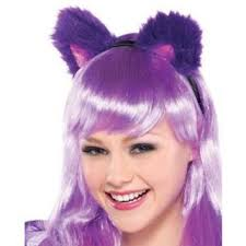 Cheshire Cat Costume Teen Girls Purple Cheshire Cat Costume From Party City