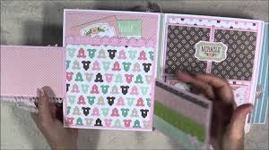 boy photo album baby boy mini album and part 1 tutorial