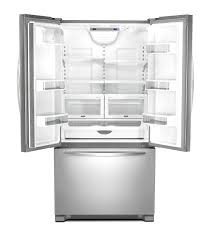 Counter Depth Stainless Steel Refrigerator French Door - 36 kitchenaid 22 cu ft counter depth french door refrigerator