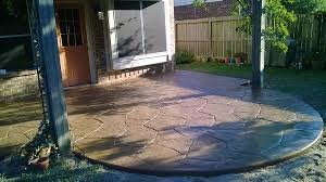 Concrete Patio Houston Decorative Concrete Resurfacing Houston Cypress Texas
