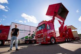 volvo trucks this volvo fh16 looks like something out of