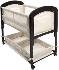 Baby Bed Attached To Parents Bed Amazon Com Arm U0027s Reach Concepts Cambria Co Sleeper Bassinet