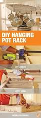 kitchen island hanging pot racks best 25 pot rack hanging ideas on pinterest pot rack pot racks