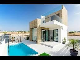 design villa modern design villas in ciudad quesada youtube