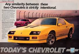 1984 chevrolet camaro z28 45 of the coolest chevrolet camaro ads of all pahrump cars