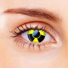 color vision biohazard contact lenses