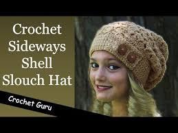redheart pattern lw2741 slightly slouchy crochet hat tutorial videomoviles com