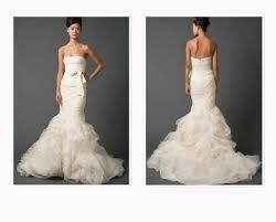 vera wang wedding dress prices vera wang mermaid dresses the chef
