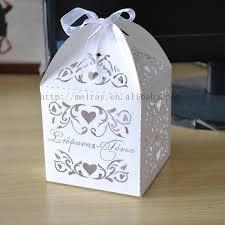 wedding souvenir wedding souvenir box party favor bags laser cut vines sweet