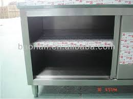 Restaurant Kitchen Pantry CabinetStainless Steel Kitchen Cabinet - Stainless steel kitchen storage cabinets