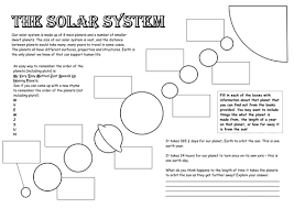 best ideas of free solar system worksheets with additional