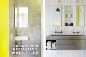 ceramic glass or stone 15 bathroom wall tile ideas