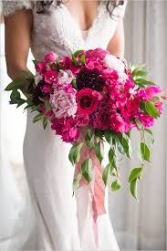 wedding flowers pink fuschia flowers for wedding kantora info