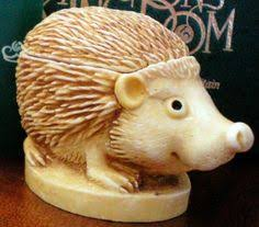 hedgehog country artists vintage and see description