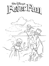 peter pan coloring pages fred u0027s corner