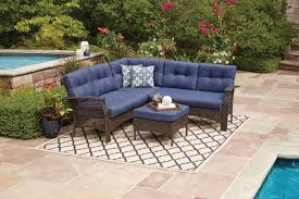 Walmart Patio Furniture In Store - hometrends tuscany 4 piece sectional set walmart canada