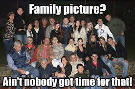 family picture sweet brown ain t nobody got time for that