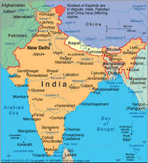 Bhopal India Map by India Lessons Tes Teach
