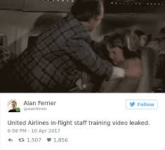 united airlines help desk 10 of the funniest reactions to united airlines violently dragging