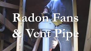 radon fan stopped working radon vent pipe and fan installation youtube