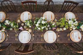 How To Choose Your Wedding Reception Layout Design - Design a table setting