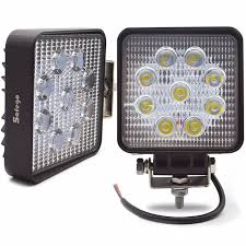 go lights for trucks safego 2pcs led work lights 12v 24v 27w led work ls car trucks