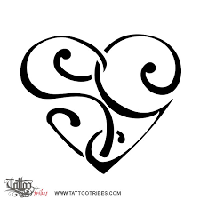 tattoo of s g heart love union tattoo custom tattoo designs on