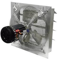 exhaust fan for welding shop canarm ax36 7 36 aluminum shutter mounted exhaust fan 12000 cfm
