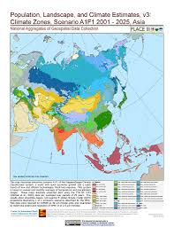 Asia Maps by Map Gallery Sedac