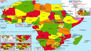 africa map states minorities rights and states cameroon intelligence report