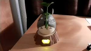 Studio Ghibli Decor Dancing Totoro Lamp Youtube