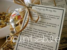 printable pdf thanksgiving blessing mix thanksgiving gift