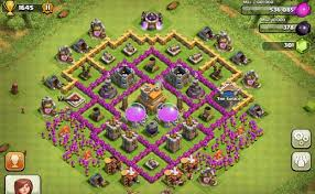 layout design th7 th7 base design trophy pushing lose the least stars and protect