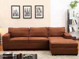 avis vente unique canapé canapé d angle en microfibre gris ou taupe halifax