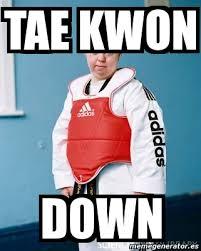Meme Down - meme personalizado tae kwon down 1175674