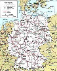 Essen Germany Map by Germany Map