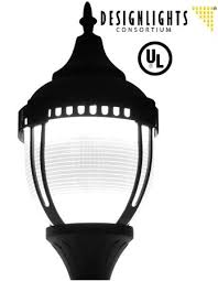 post top light fixtures unicor shopping 60 watt led acorn post top fixture