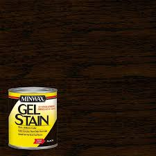 how much gel stain do i need for kitchen cabinets minwax gel stain based black interior stain 1 quart