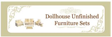 Unfinished Bookshelves by Dollhouse Furniture Unfinished Dollhouse Furniture Sets