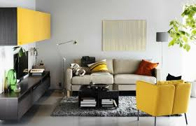Grey Yellow Chair 40 Living Room Chair With Cool Look That Clearly Stand Out In The